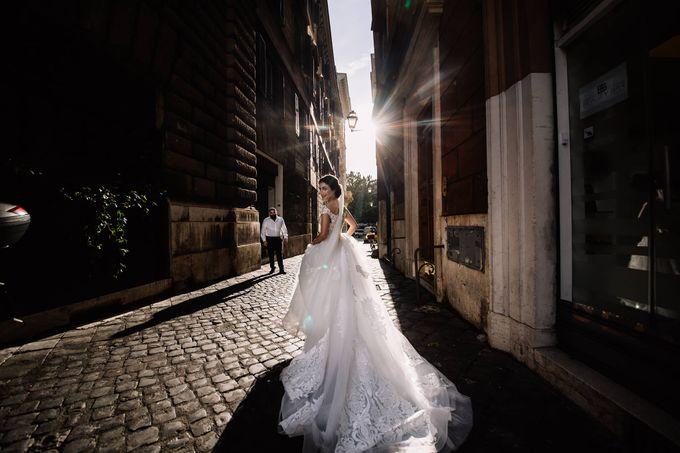 Weddin in Rome by Ruslana Regi makeup artist in Italy - 003