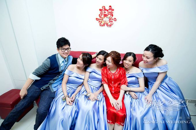 Actual Day by Cang Ai Wedding - 002
