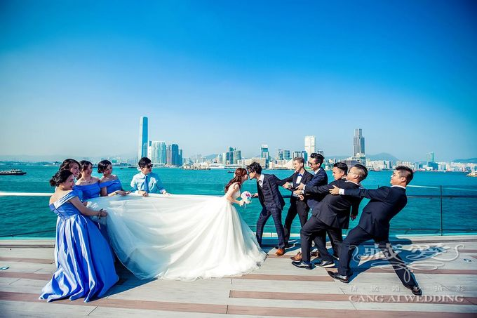 Actual Day by Cang Ai Wedding - 003