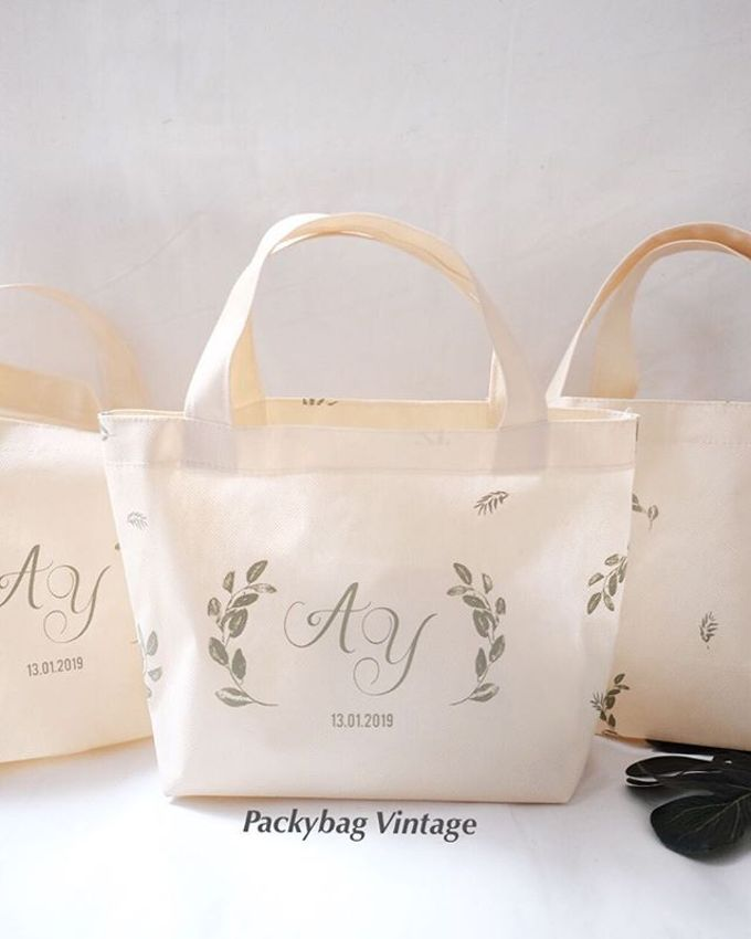 Totebag Mini spunbond // AYA WEDDING - JANUARI 19 by Packy Bag Vintage - 003