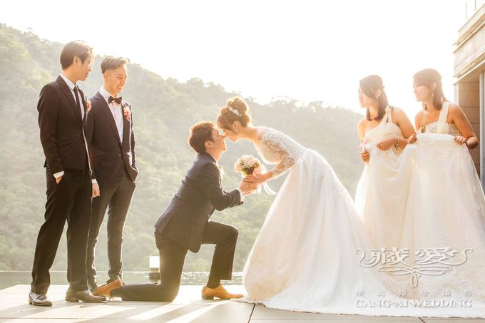 Actual Day by Cang Ai Wedding - 009