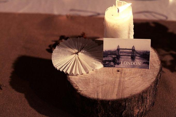White Vintage Charm by Tea Rose Wedding Designer - 010