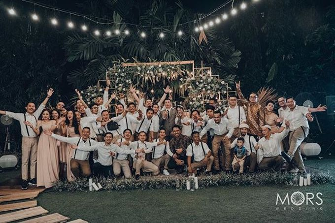 The Wedding of Ade & Marcell by MORS Wedding - 018