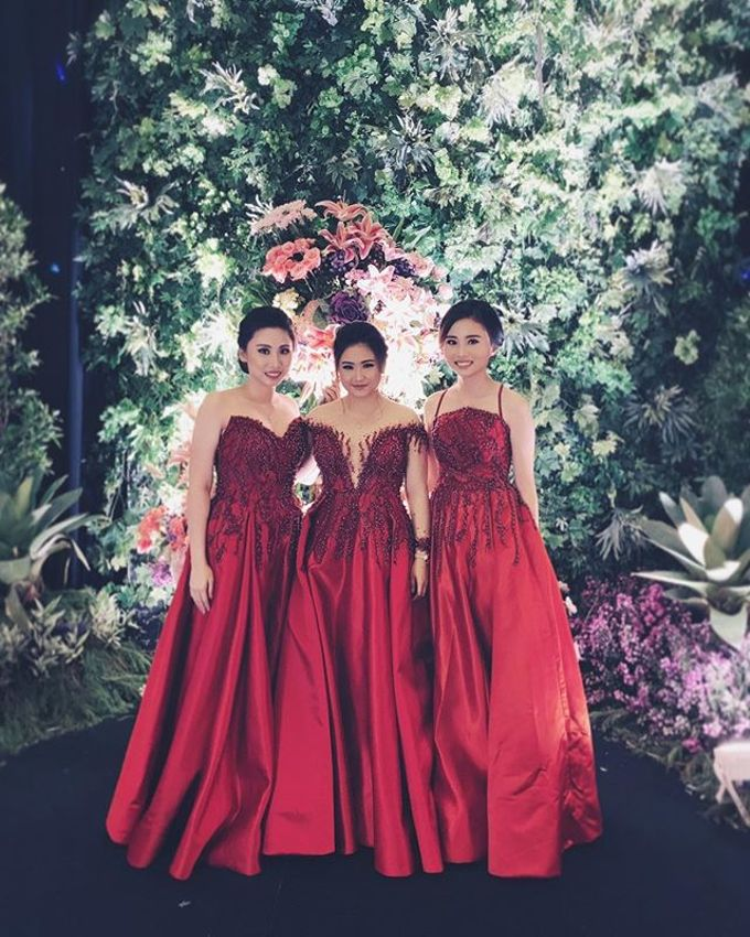 Sister's of Bride and Grooms by Gianina Atelier - 001