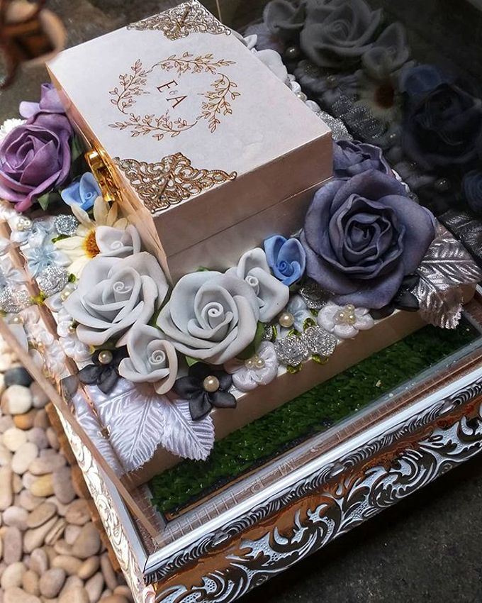 Glam Tray (Silver) by Freesia Seserahan - 009