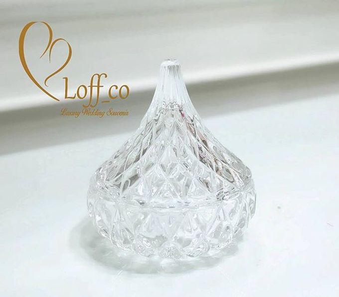 Luxury Crystal Grid & Ceramic Jar by Loff_co souvenir - 016