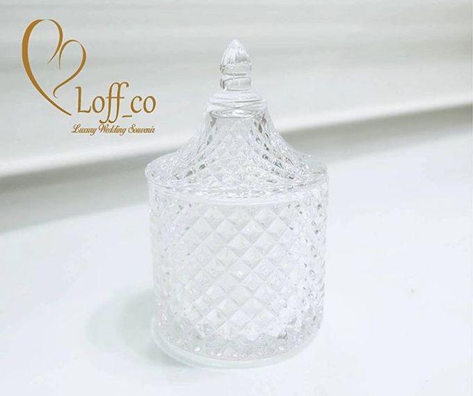 Luxury Crystal Grid & Ceramic Jar by Loff_co souvenir - 015
