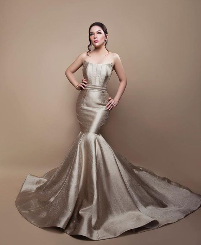 Evening Gown  by Tommy Pancamurti - 010