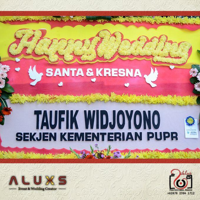 The Wedding of Santa & Khresna by Alux's Event & Wedding Creator - 002