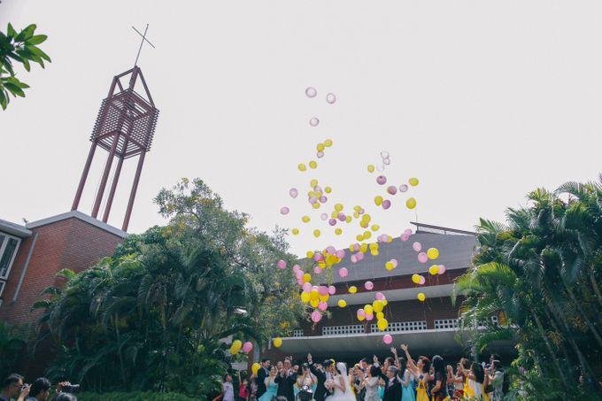 Maurice & Natasya Jakarta Wedding by Ian Vins - 028