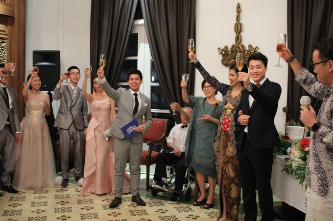 MC Wedding Intimate Plataran Menteng Jakarta - Anthony Stevven by THE PALACE Jeweler - 004