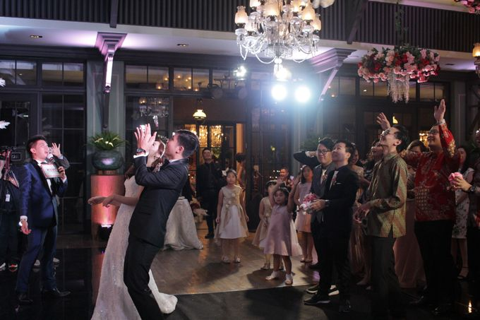 MC Wedding Intimate Suasana Restaurant Jakarta - Anthony Stevven by Anthony Stevven - 019