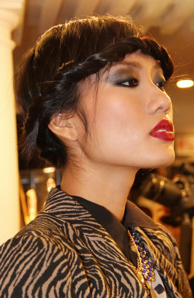 Vietnamese Next Top Model 2012 by Elza Finishya Makeup Artist - 003