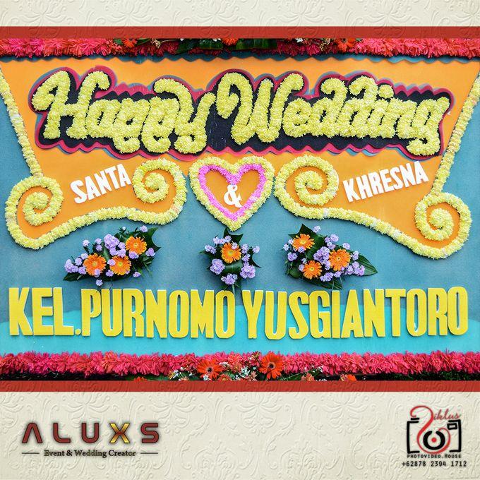 The Wedding of Santa & Khresna by Alux's Event & Wedding Creator - 003