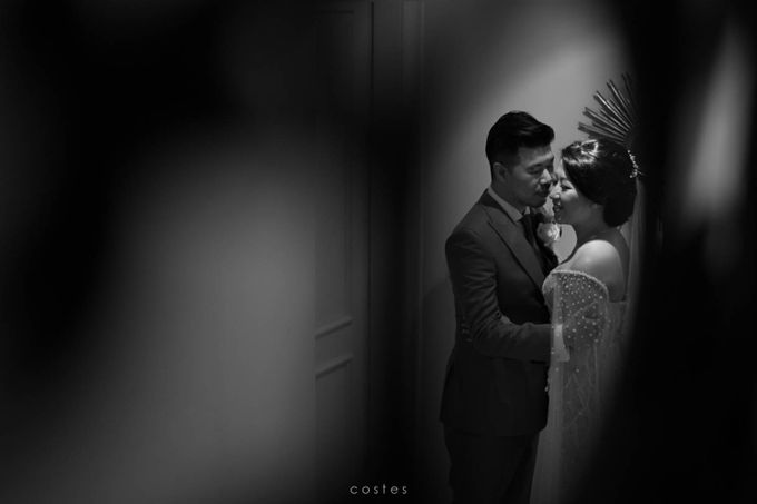 The Wedding of Carin & Stephen by Costes Portrait - 027