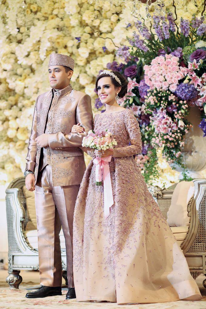 Saffana & Harish Wedding Reception by JAYSU Weddings by Jacky Suharto - 012