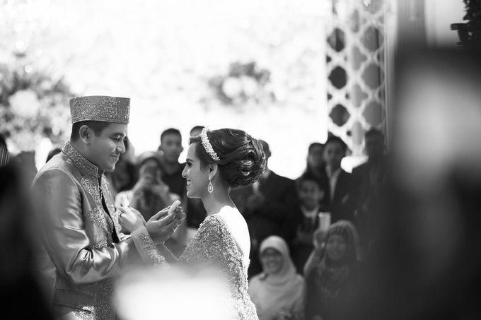 Saffana & Harish Wedding Reception by JAYSU Weddings by Jacky Suharto - 017