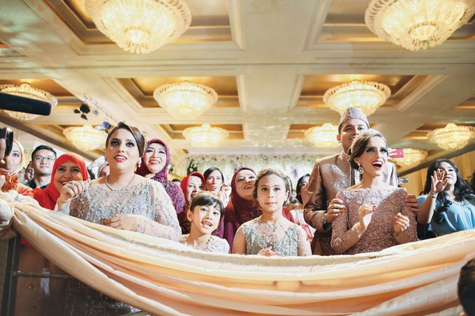 Saffana & Harish Wedding Reception by JAYSU Weddings by Jacky Suharto - 027