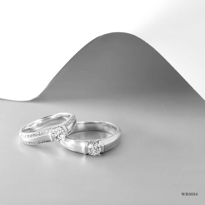 Wedding Ring WR0084 by V&Co Jewellery - 001