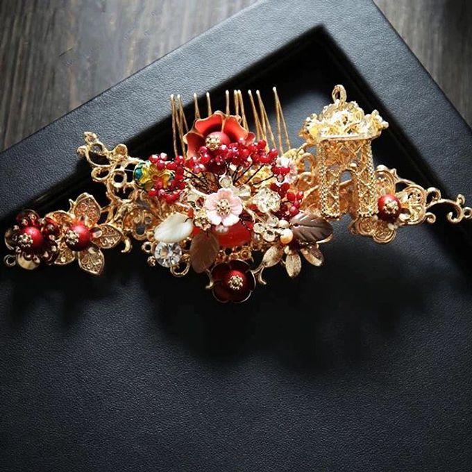 Headpiece & Crown by Ilona Headpiece & Crown - 023