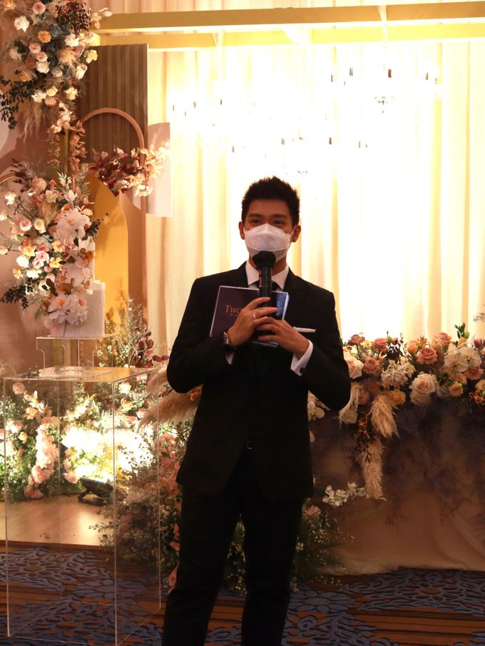 MC Wedding Intimate at Jade Room Fairmont Hotel Jakarta by Anthony Stevven by Anthony Stevven - 018