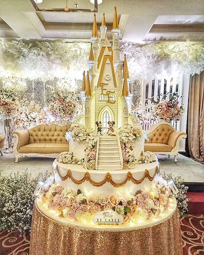 Wedding Cake - Real Wedding by RR CAKES - 028
