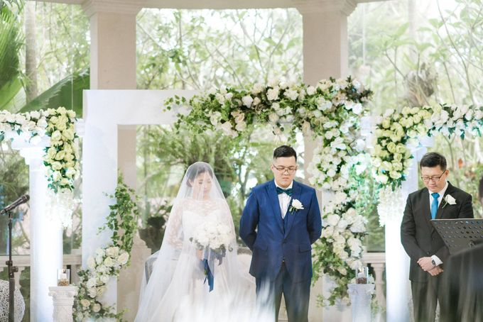 Ceremony Styling by Natural Art Flowers and Decors - 015