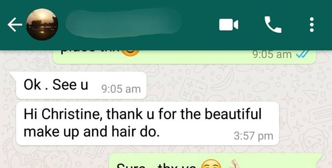 Happy Clients Compliments and Feedbacks by Makeupwifstyle - 003