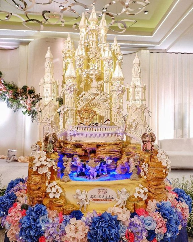 Wedding Cake - Real Wedding by RR CAKES - 029