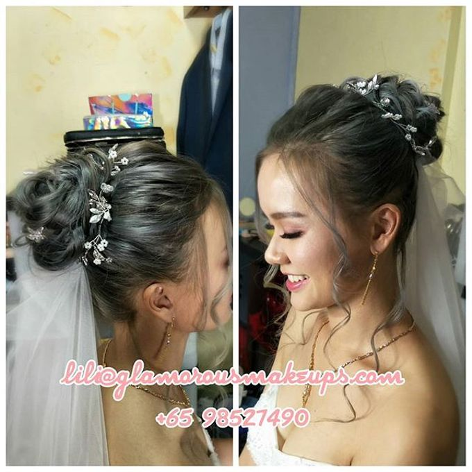 Cordelia (Airbrush Bridal Makeup) by Lili Makeup Specialist - 002