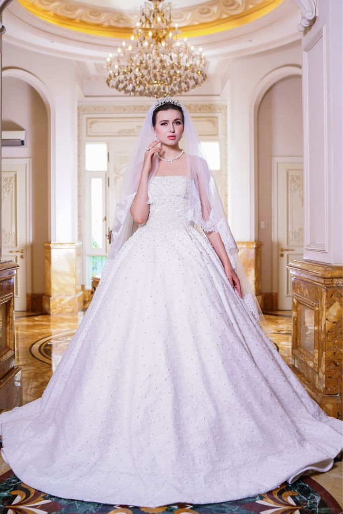 Wedding Gown by Jeffry Sui Couture - 002