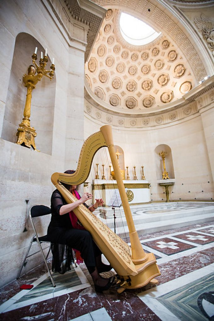 Ceremony music by Harpists and Musicians in Paris - 008
