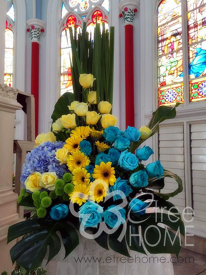 Blue Yellow Wedding by etreehome - 004