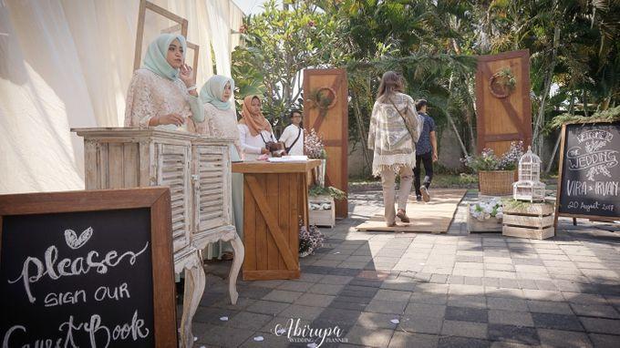Poolside Wedding Party of Elvira & Irfan by Abirupa Wedding Planner - 032