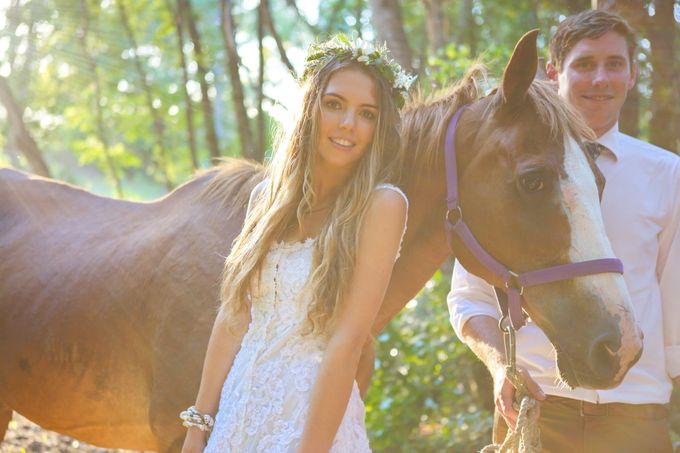 Paige & Pauls Boho Wedding by Dream Bella Photography - 004