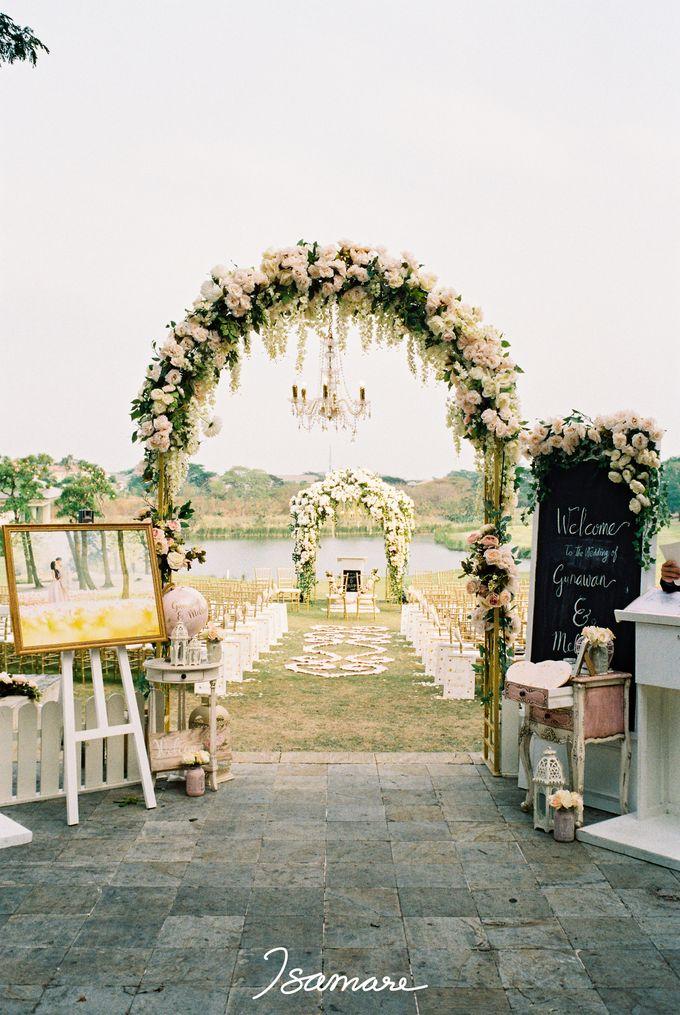 Gunawan & Melisa - Timeless Blush & Gold Wedding by isamare - 004