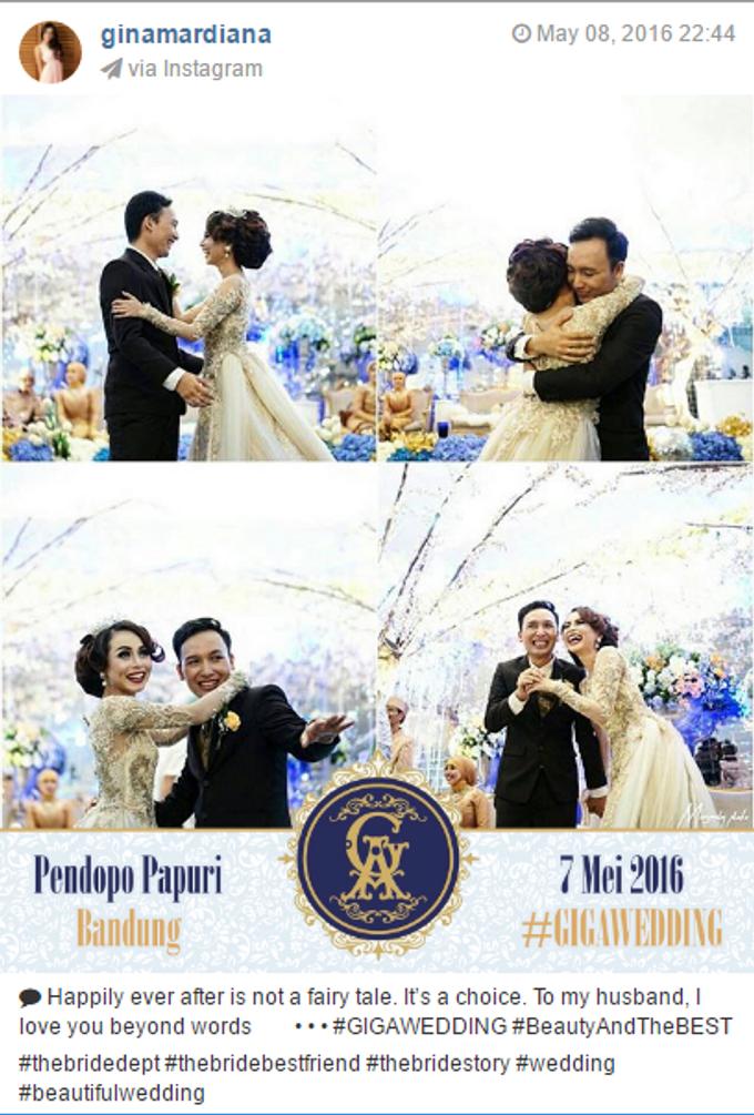 Pernikahan Gina & Angga by Jepret Allegra Instant Print - 004