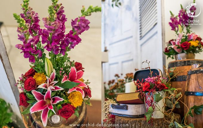 Colorful Happiness by Orchid Florist and Decoration - 003