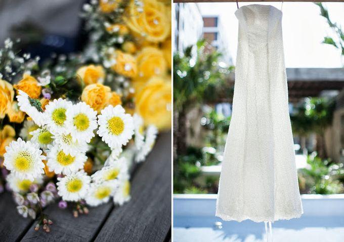 Sunshine outdoor wedding by SS Florist - 004