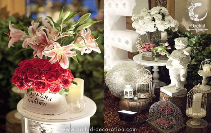Life began in a garden by Orchid Florist and Decoration - 005