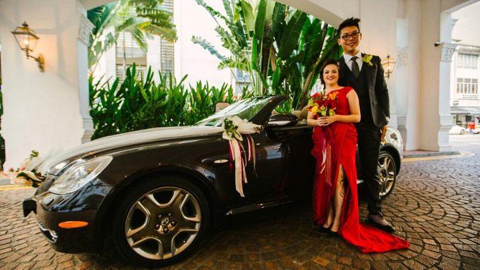 Wedding of Ian & Kelly @ Halia at Raffles Hotel by The Halia - 004