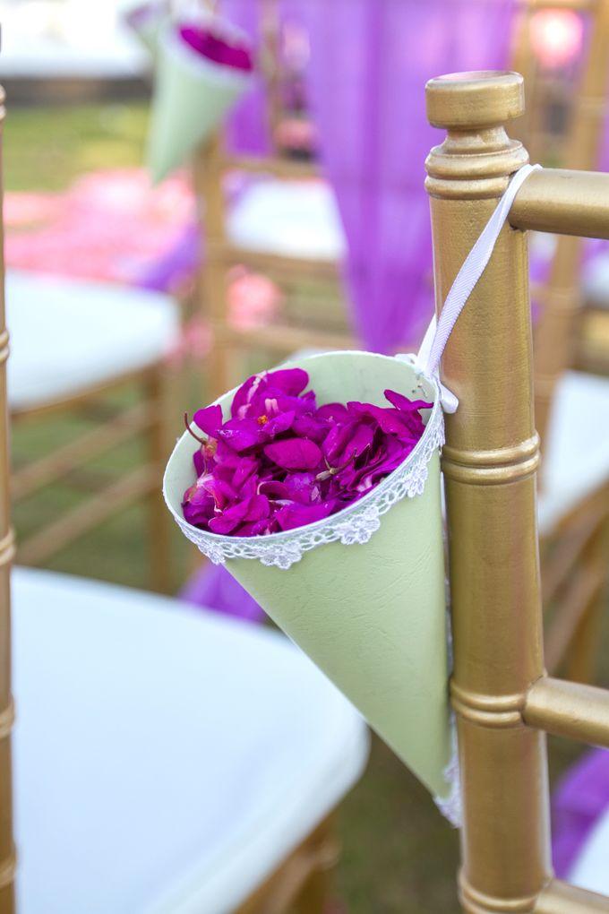 Purple wedding by Bali Angels - 010
