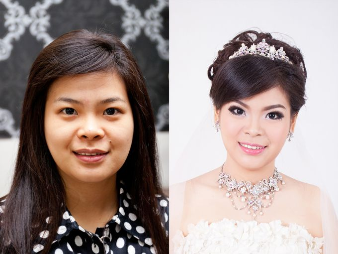 before & after by Xin-Ai Bride - 034