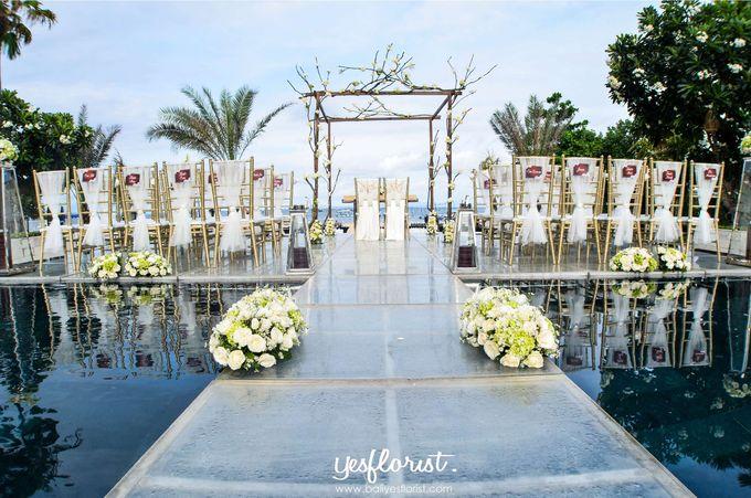 Wedding of Michael & Stella by Bali Yes Florist - 001