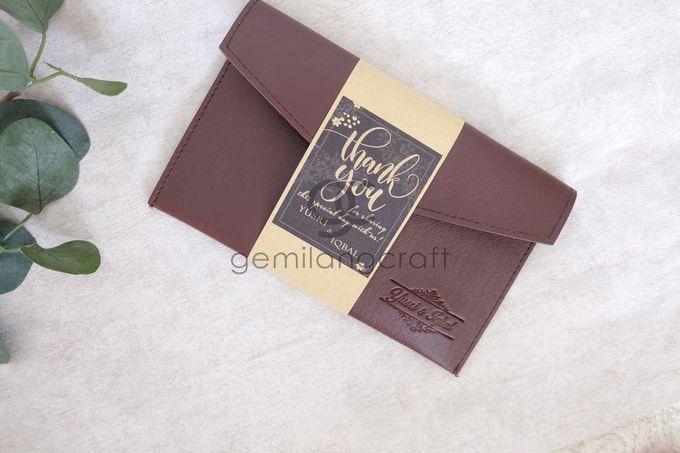 Premium envelope packaging roll paper for Yusri & Iqbal by Gemilang Craft - 002