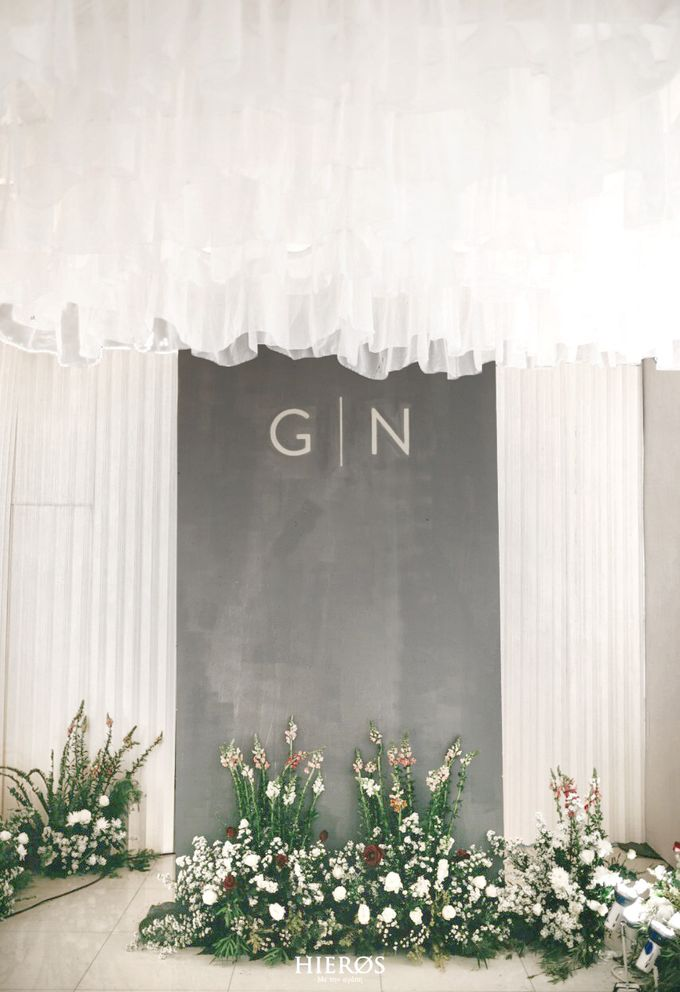 Simple Meets Elegant in This Dreamy Wedding Celebration by Elior Design - 017