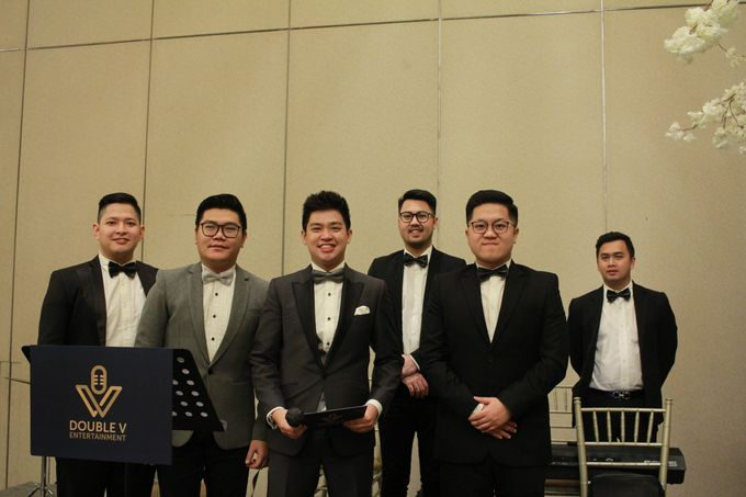 Mc Entertainment Wedding Sheraton Gandaria - Anthony Stevven  with Double V Entertainment Jakarta by Anthony Stevven - 008