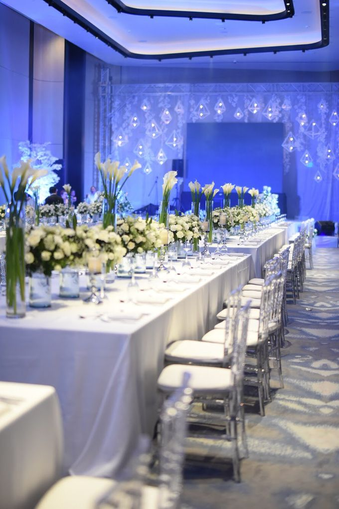 Reception Styling by Natural Art Flowers and Decors - 001