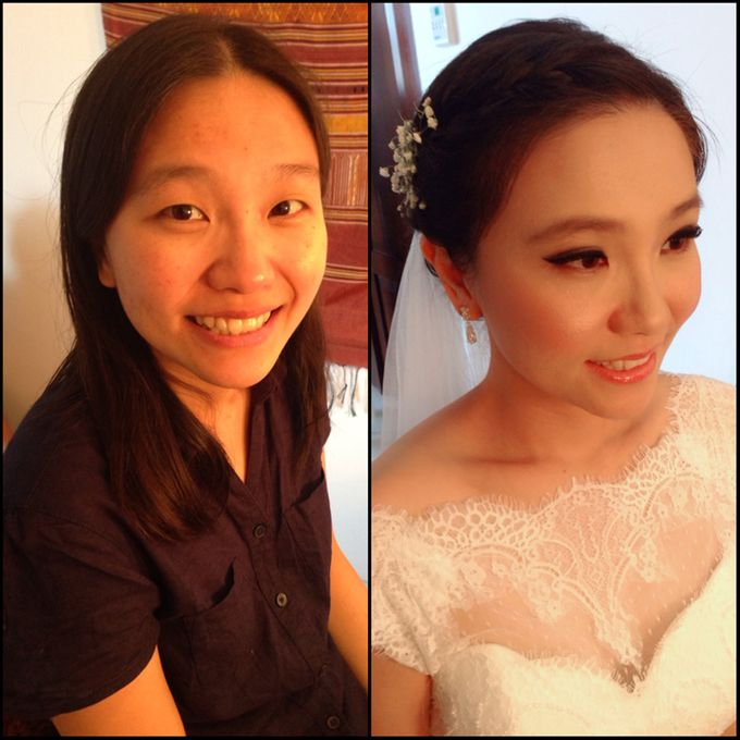 New Client this month by Cindy Lin Make Up Artist - 011