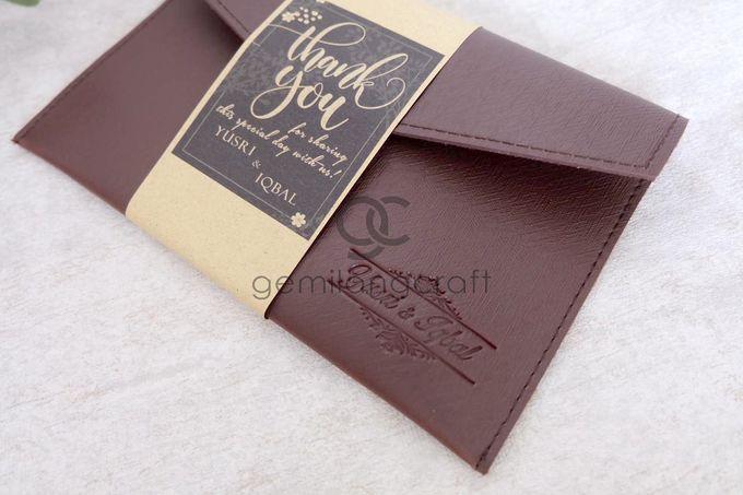 Premium envelope packaging roll paper for Yusri & Iqbal by Gemilang Craft - 004